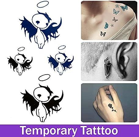 Oxita Tm Tendance Sex Produits Tatouage Temporaire Tatoo Impermeable Pour Homme Femme Maquillage Stickers Demon Le Tatouage Ailes D Ange Amazon Fr Cuisine Maison