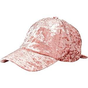 Orchid Row Women's Fashion Velvet Baseball Cap