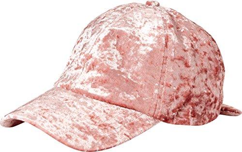 Orchid-Row-Womens-Fashion-Velvet-Baseball-Cap