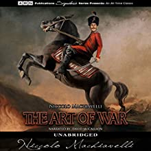 The Art of War Audiobook by Niccolo Machiavelli Narrated by David McCallion