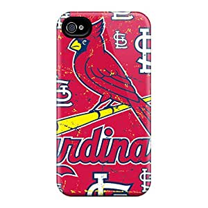 SherriFakhry Iphone 4/4s Perfect Cell-phone Hard Covers Customized Attractive St. Louis Cardinals Skin [CdB2646VYmG]