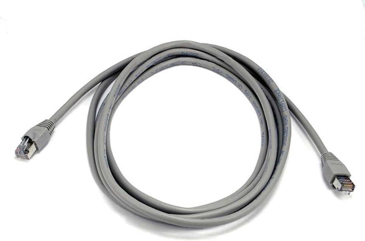 Monoprice 14FT 24AWG Cat5e 350MHz STP Ethernet Bare Copper Network Cable Gray