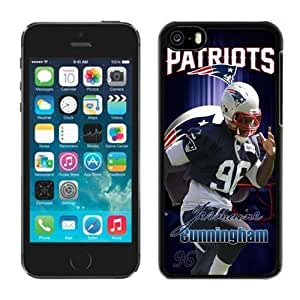NFL New England Patriots Jermaine Cunningham iphone 5C phone cases Gift Holiday Christmas GiftsTLWK936745