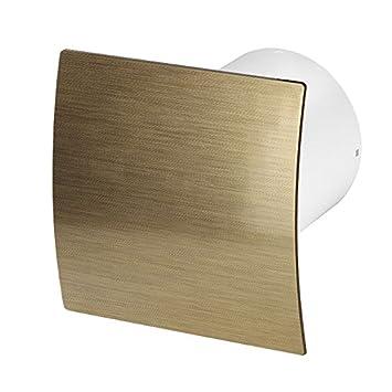 Bathroom Extractor Fan 125mm / 5u0026quot; With Non Return Valve / Backdraft  Shutter Kitchen Ventilator