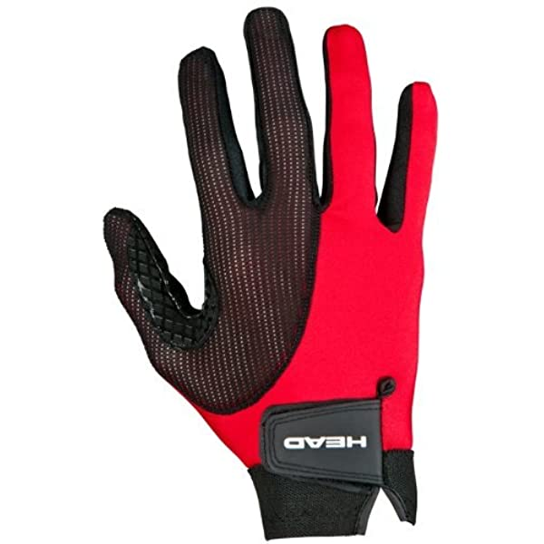 Amazon Com Head Leather Racquetball Glove Web Extra Grip Breathable Glove For Right Left Hand Sports Outdoors