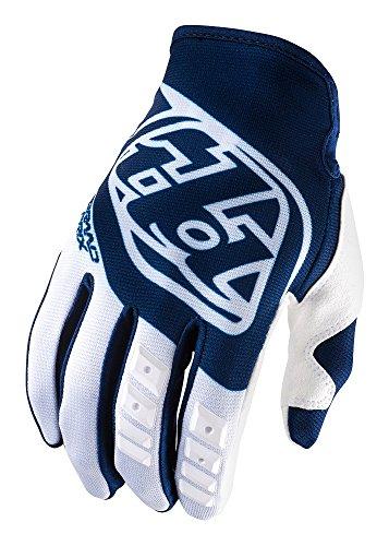 Troy Lee Designs GP Mens Off-Road Motorcycle Gloves - Blue / Large