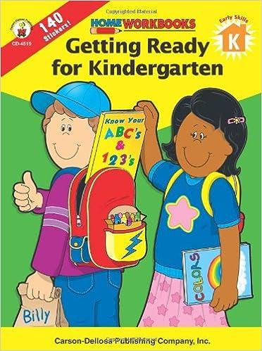 Getting Ready for Kindergarten (Home Workbooks): Carson-Dellosa ...