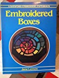 Embroidered Boxes, Jane Lemon, 0713445874