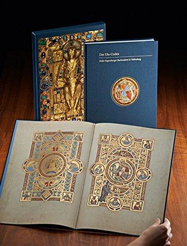 Der Uta-Codex: Frühe Regensburger Buchmalerei in Vollendung. Die Handschrift Clm 13601 der Bayerischen Staatsbibliothek.