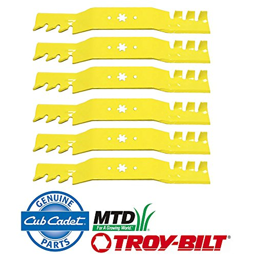 6 OEM Extreme Blades for MTD Cub Cadet Riding Zero Turn Mowers with 50