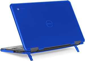 "mCover Hard Shell Case for 11.6"" Dell Chromebook 11 3100 Education non-2-in-1(180-degree Hinge) Laptop (NOT Compatible with 3181/3100 2in1, 210/3120/3180/3189/5190 Series) - Dell-C3100-non2in1 Blue"