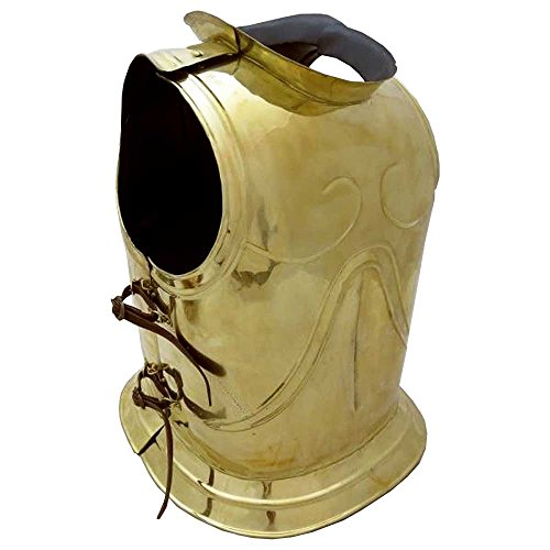 Deepeeka AH6096N - Early Greek Short Bell Cuirass Breastplate w/ Bronze Finish by Deepeeka