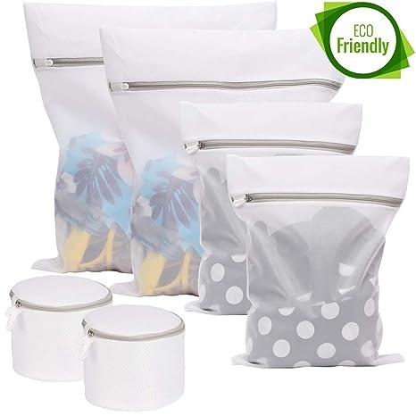 Amazon.com: Sunboom - Juego de 6 bolsas de malla para ropa ...