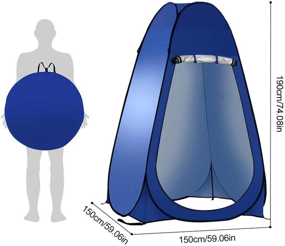 Camping WC Tent Pop Up Douche Privacy Tent voor Outdoor verbandwissel Vissen Zwemmen Berging Tenten, Portable met draagtas Green