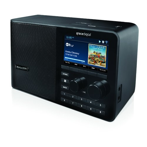 SiriusXM TTR2 Sound Station - Internet radio by Grace Digital