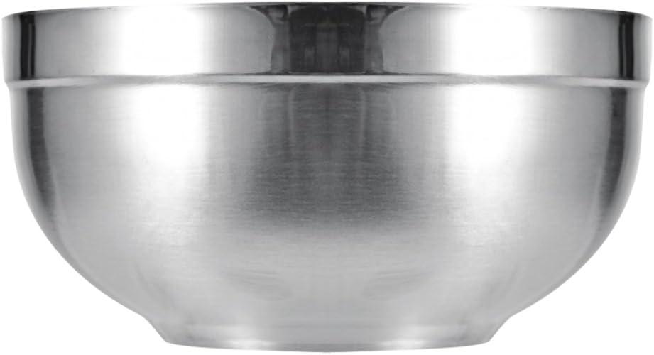 Wonderfulwu Bol en acier inoxydable poli 12/cm//13/cm de diam/ètre r/ésistant /à la chaleur pour la cuisine de m/élange Diameter 12cm//4.72 in 1 PCS