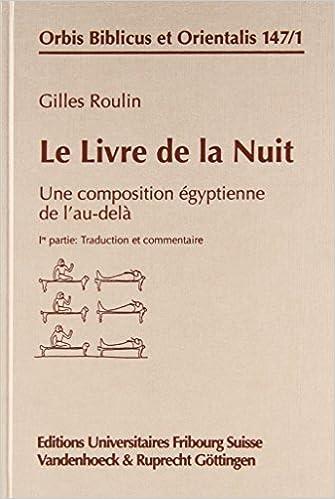 Amazon Com Le Livre De La Nuit Une Composition Egyptienne