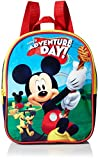 Disney Boys' Mickey Mouse 'Adventure Day' 10 Mini Backpack, Blue