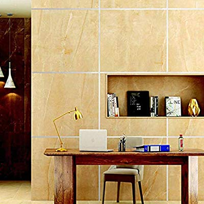 Enkiza 2019 Ceramic Tile Mildewproof Gap Tape 10mm x 50M, Gold