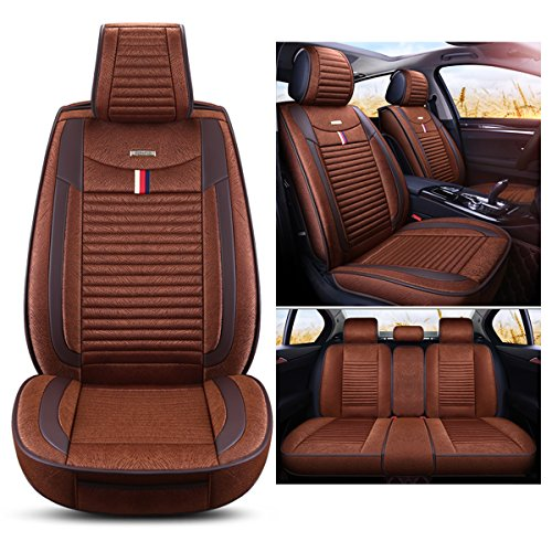 brown suv lincoln seat covers - 4