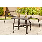 Hampton Bay Belleville Patio Side Table