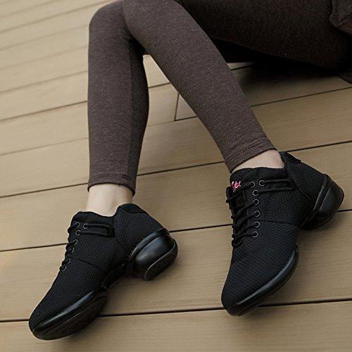 Sportivi Hip Sneakers Gym Atletiche Per Kotzeb Bianca Rosa Ballo Scarpe Walking Da 35 41 Hop Rosso Nero Modern Danza Donna BB7qzw48