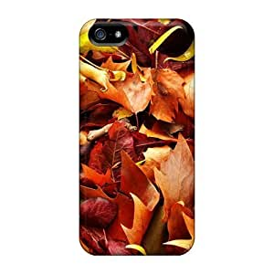 Premium Leaf Carpet Heavy-duty Protection Case For Iphone 5/5s