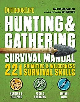 amazon com outdoor life hunting gathering survival manual 221 rh amazon com manual machine mtb manual machine plans
