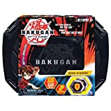 Bakugan, Baku-Storage Case (Black) Collectible Action Figures, for Ages 6 and Up