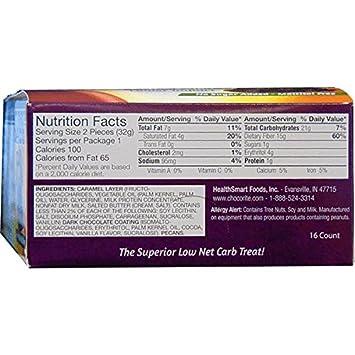 ChocoRite – High Protein Diet Bar Dark Chocolate Pecan Clusters Low Calorie, Low Fat, Low Sugar 16 Box