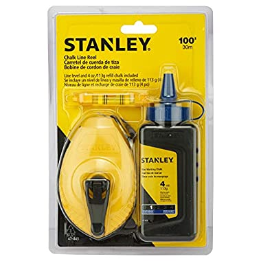 STANLEY STHT47443-8 White/Blue Chalk and Line 14