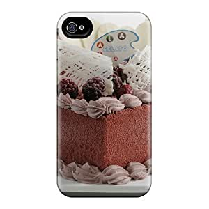 Waterdrop Snap-on Cake Chocolate Heart Cases For Iphone 6