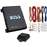 New BOSS R1100M 1100W Mono Car Audio Amplifier Amp + 8 Gauge Amp Wiring Kit
