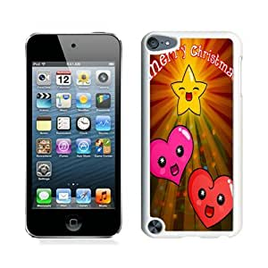 Niche market Phone Case Merry Christmas White iPod Touch 5 Case 14