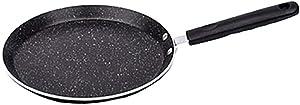 LSN Pot,Cookware Home Pancake Pan with Healthier,Non-Stick Pancake Pan, Aluminium,222cm