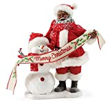 """Department 56 Possible Dreams Santa Claus """"In The Meadow AA"""" Clothtique Figurine, 10.5''"""