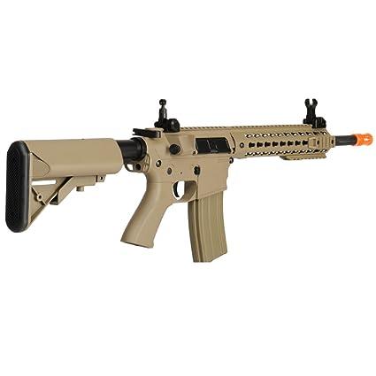 Amazon.com: Lancer Tactical lt-12tk M4 clave Mod 10 inch AEG ...