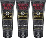 Burt's Bees Natural Skin Care for Men, Shave Cream, 6 Ounces - Pack of 3