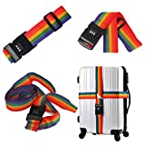 Autumn Water Travel Luggage Suitcase Durable Nylon Packing Strap Belt