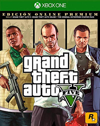 Grand Theft Auto V Premium Online Edition - Xbox One Standard Edition (Gta Game For Xbox 360)