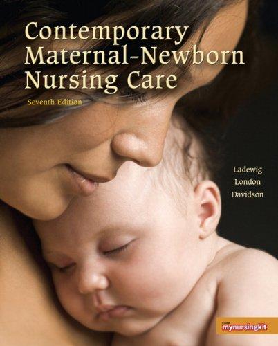 Contemporary Maternal-Newborn Nursing (7th Edition), Books Central