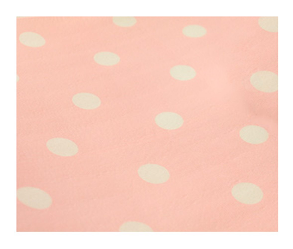 L Zhide Lovely White Dots Pattern Non-Adhesive Shelf Paper Drawer Liner Size S,L