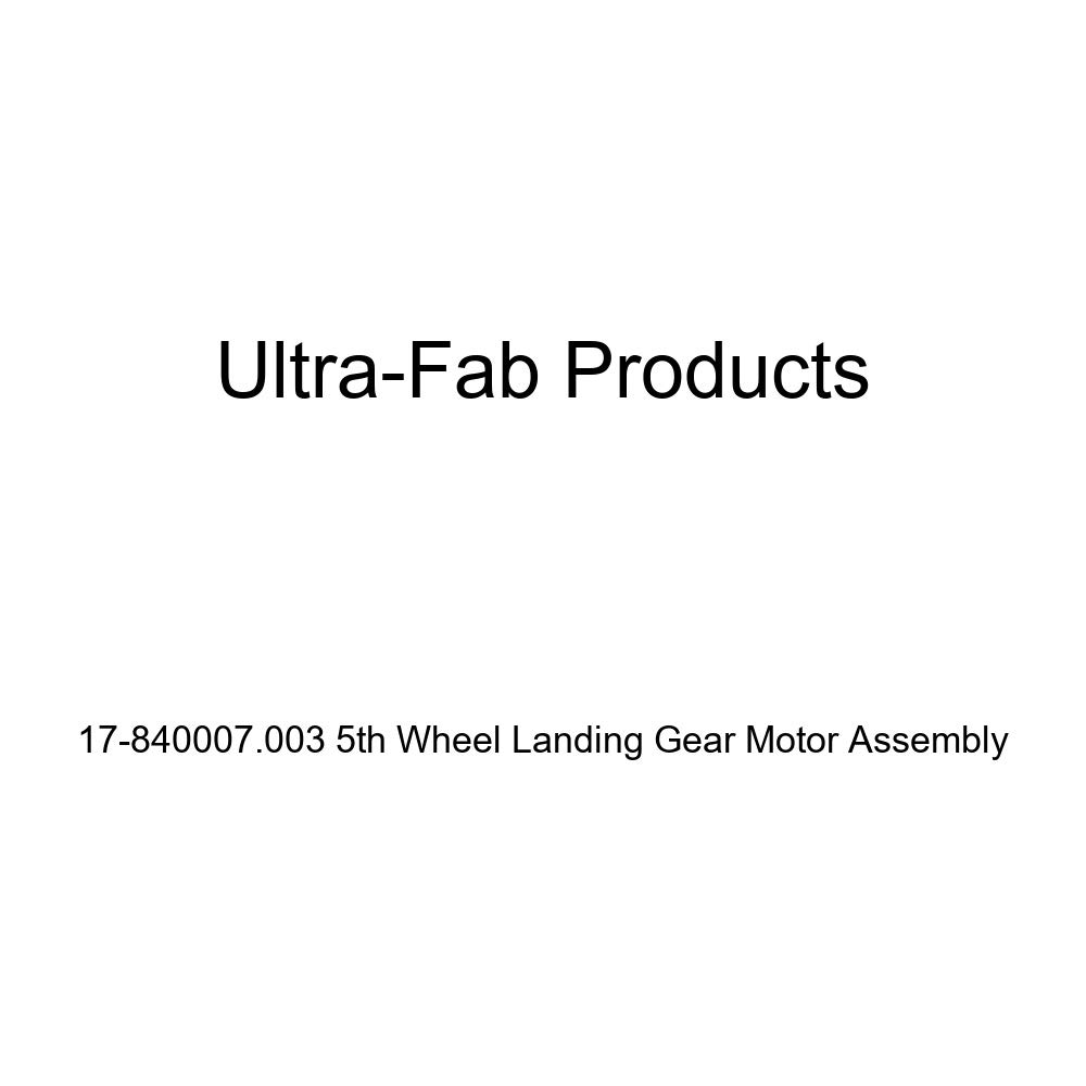 Ultra-Fab 17-840007.003 Motor Gear Assembly for Electric Landing Gear Jack by Ultra-Fab Products