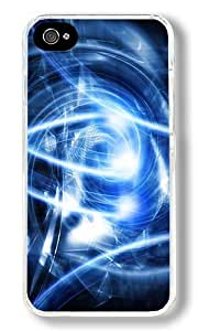 CSKFUAbstract Blue Dark Night Mushrooms Glowing Owls Artwork Custom iphone 6 4.7 inch iphone 6 4.7 inch Case Back Cover, Snap-on Shell Case Polycarbonate PC Plastic Hard Case Transparent