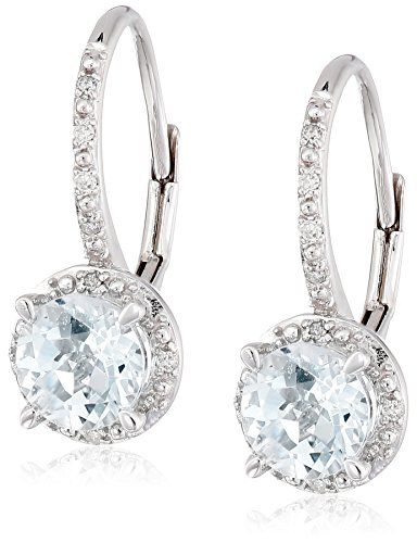 10k-White-Gold-Aquamarine-and-Diamond-Dangle-Earrings