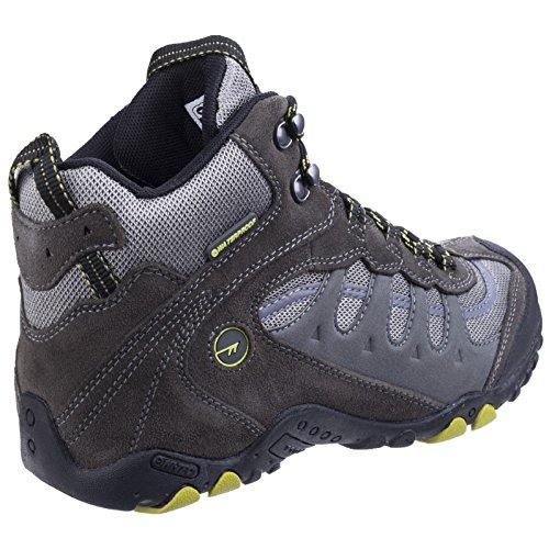 Waterproof High Penrith Rise Mid Tec Senderismo Hombre Charcoal de Hi Chartreuse Zapatos para taqTw