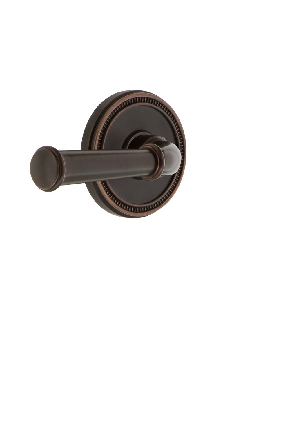 Grandeur 820581 Soleil Rosette Double Dummy with Georgetown Lever in Timeless Bronze