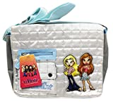 Lil Bratz Silver/Gray Colored Kids Small Size Knapsack Messenger Bag