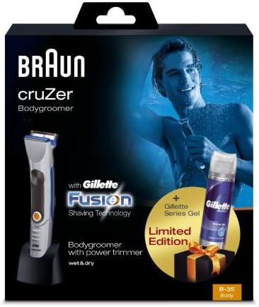 Braun - Depiladora Corporal Masculina Body cruZer B35: Amazon.es ...
