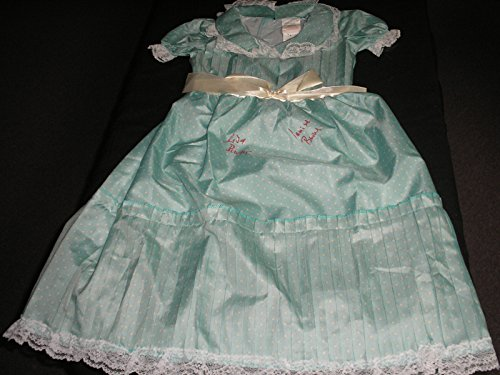 [LISA & LOUISE BURNS Dual Signed COSTUME DRESS The Shining Grady Twins Autograph] (Grady Twins Costume)